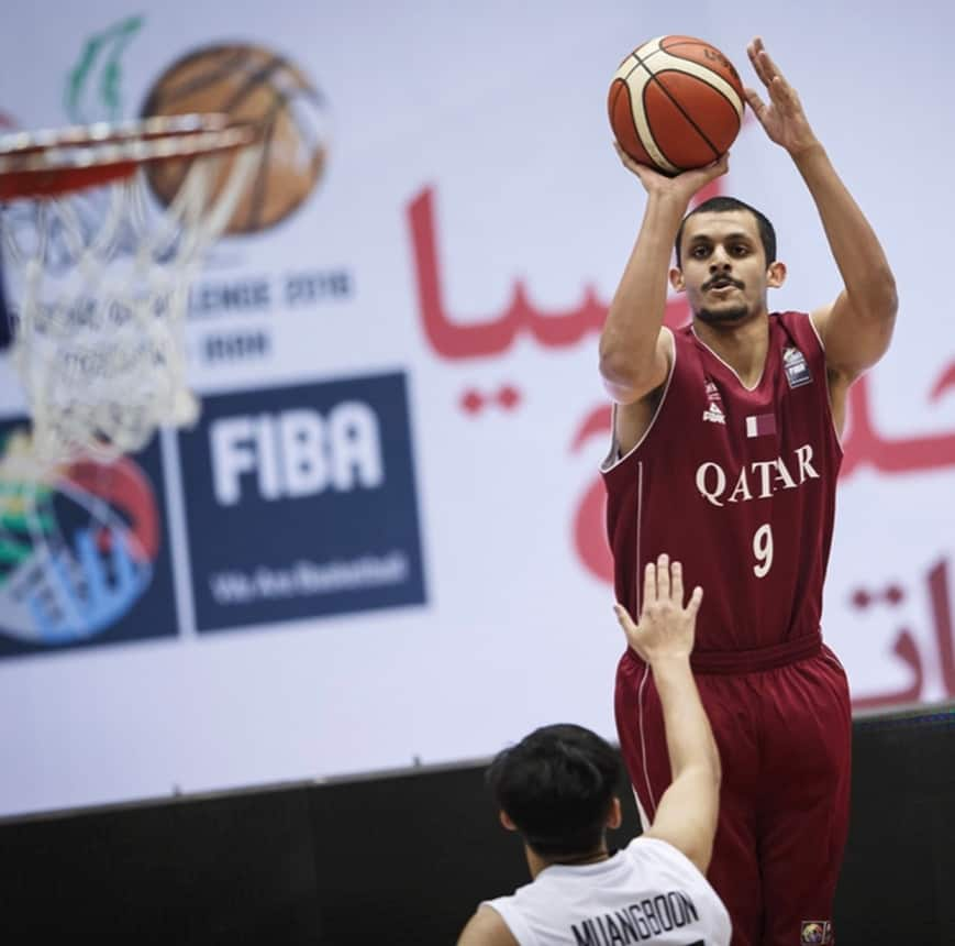 Mizo Amin Striving to Become Qatar's Best 3-points Shooter