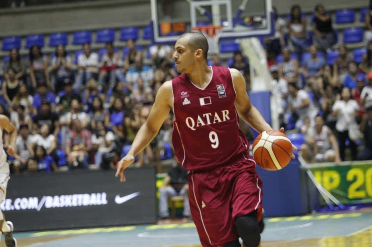 Mizo Amin #9 with the ball