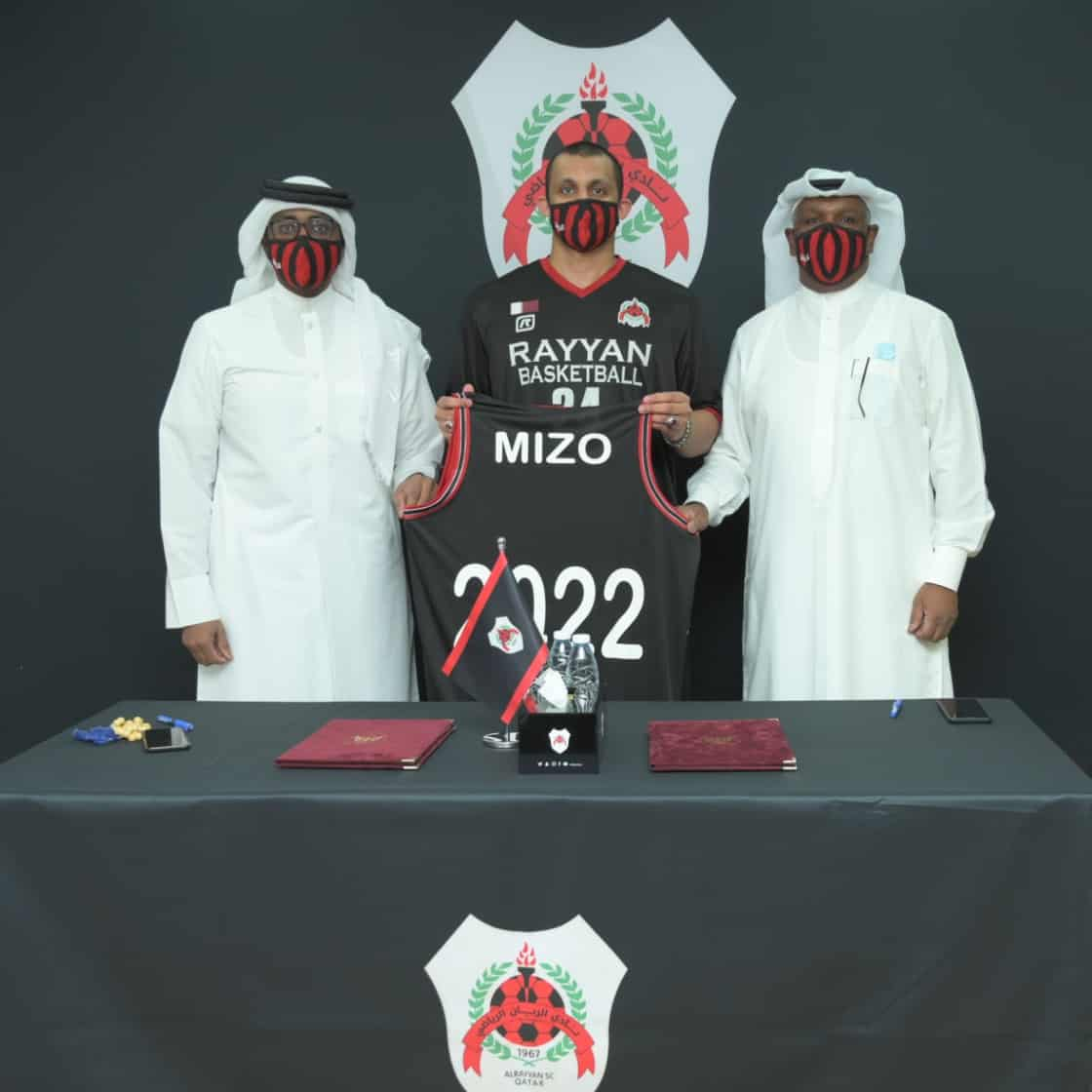 Mizo Amin Renews Basketball Contract with Al Rayyan SC until 2022